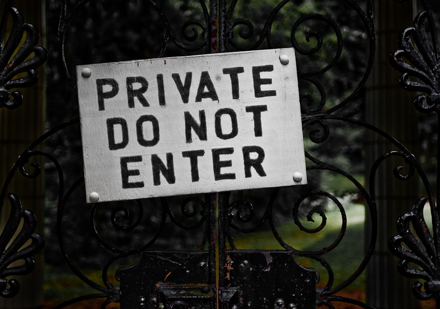 Private, Do Not Enter